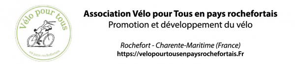 Association Vélo pour Tous en pays rochefortais